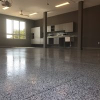 Epoxy vs V-8 High Performance Floors